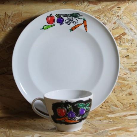 Porselen Tabak ve Çorba Kasesi