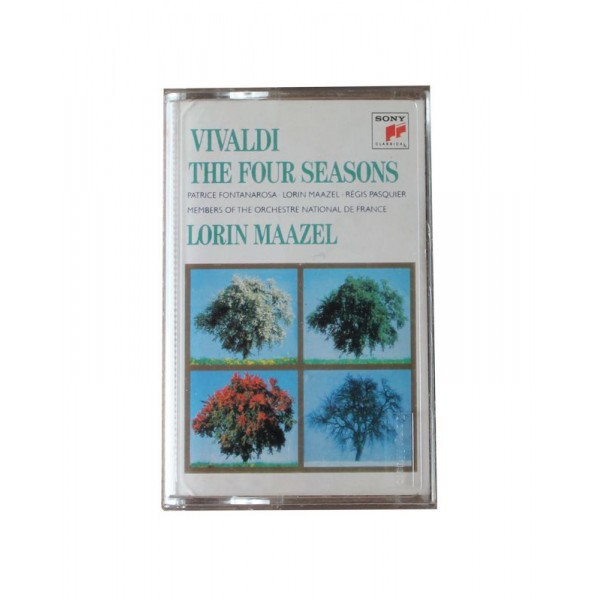 Vivaldi/The Four Seasons - Kaset